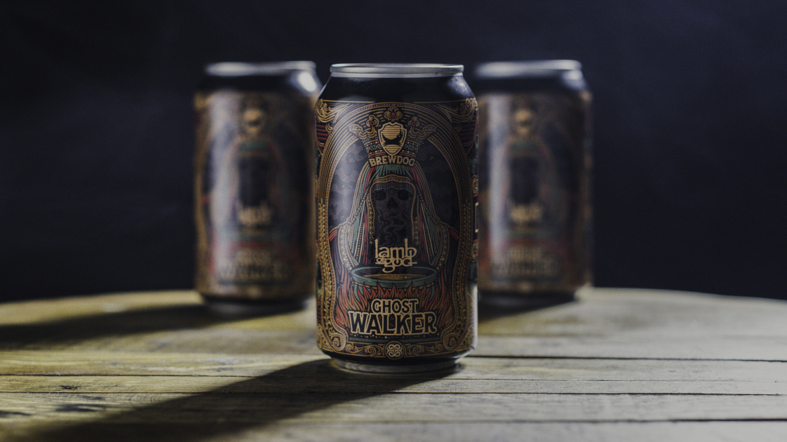 Three cans of Ghost Walker